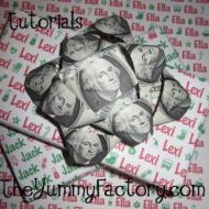 Money Bow and Wrapping Paper